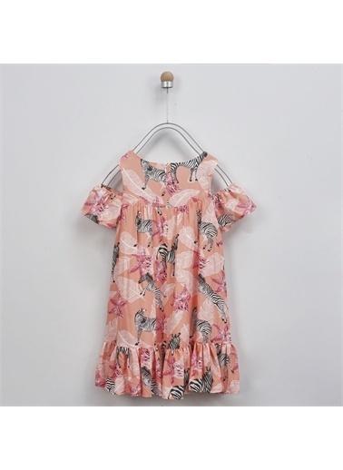 Panço Kız Çocuk Elbise 2011GK26043 Pembe